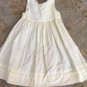 Strasburg Girls Size 12 M Pale Yellow Dress